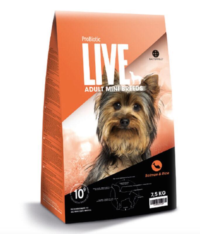 2 kg. ProBiotic LIVE Adult MINI - med Laks