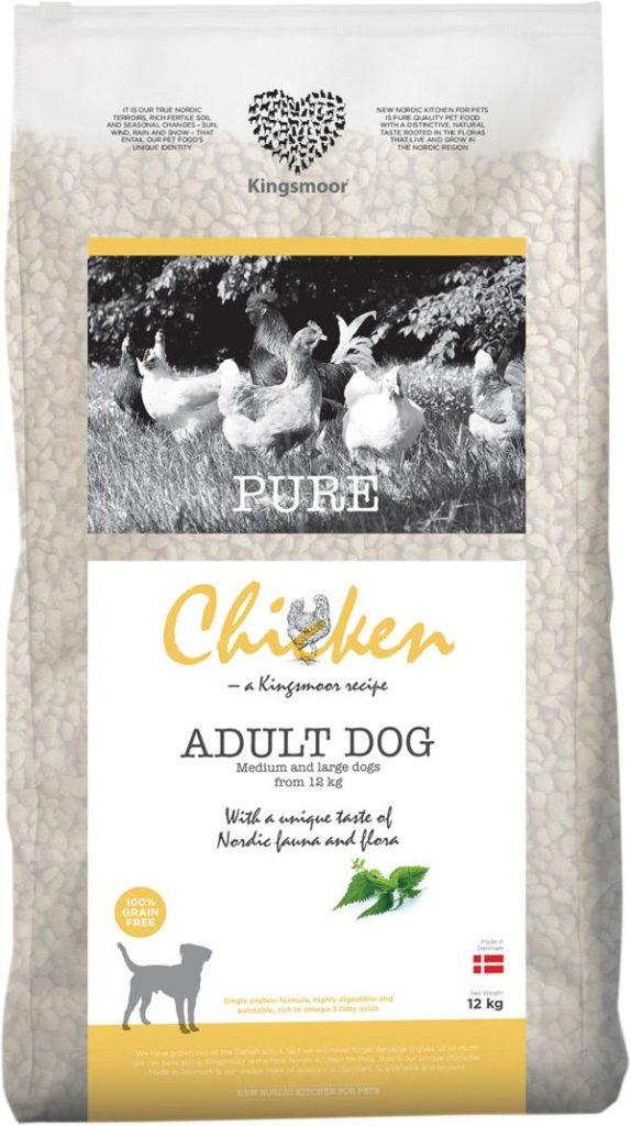 new nordic hundefoder m. kylling - kornfri