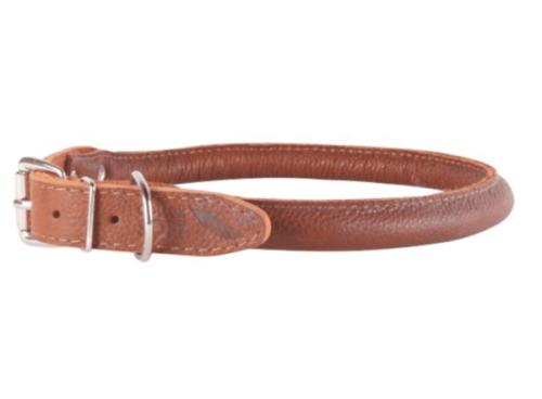 Collar læder halsbånd hundehalsbånd